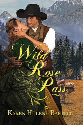 book cover for book entitled Wild Rose Pass