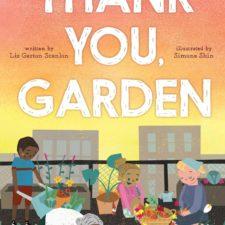 book cover; Thank You, Garden