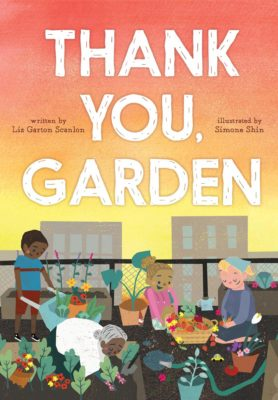 book cover; Thank You, Garden