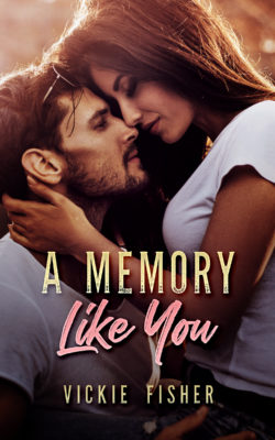 Book Cover for Vickie Fisher's new book, A Memory Like You