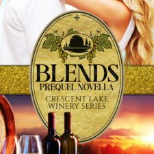 Book cover for Blends, written by Lucinda Race