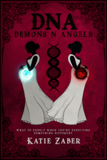 Book cover for Katie Zaber's new book, DNA